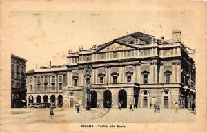 Br33957 Milano Teatro alla Scala italy