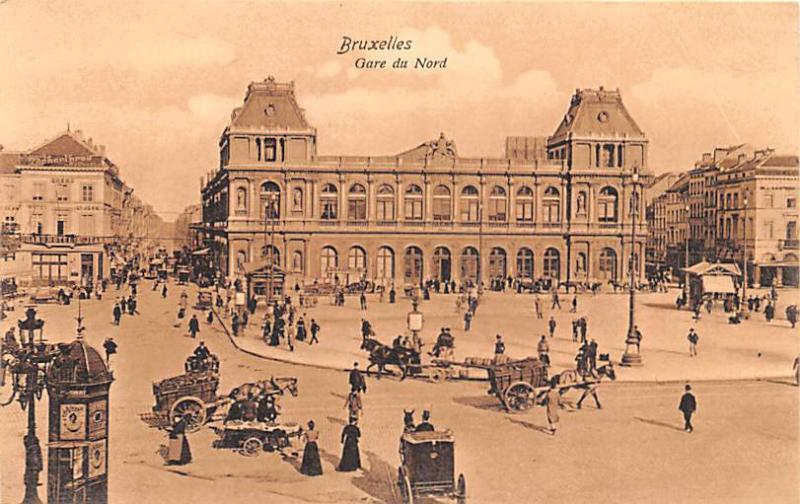 Bruxelles Belgium, Belgique, Belgie, Belgien Gare du Nord Bruxelles Gare du Nord