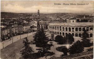 CPA AK VERONA Piazza Vittorio Emanuele ITALY (493149)
