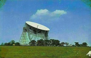 The Radio Telescope Jodrell Bank Cheshire Postcard