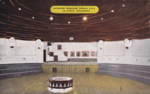 LA JUNTA , Colorado , PU-1953 ; Interior , Koshare Indian Kiva