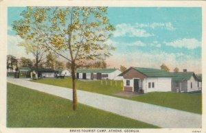 ATHENS , Georgia, 1910-30s ; Brays Tourist Camp