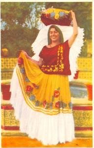 Mexico Old Vintage Antique Post Card Tipo de India Tehuana Unused