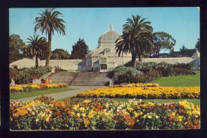 San Francisco, California/CA Postcard, Conservatory Of Flowers, Golden Gate Park