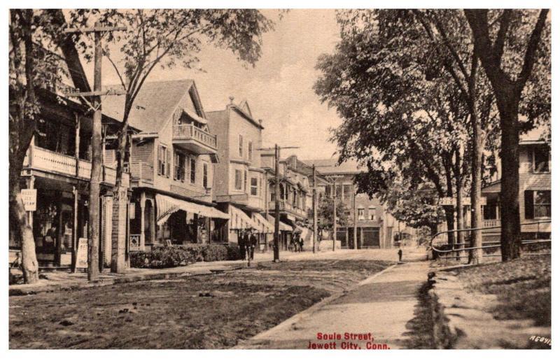 Connecticut Jewett City , Soule Street
