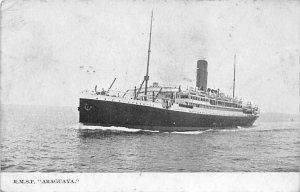 RMSP Araguaya Ship Postal Used Unknown