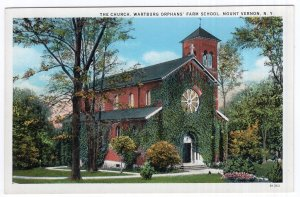 Mount Vernon, N.Y., The Church, Wartburg Orphans Farm School