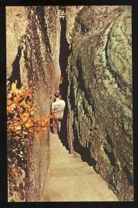 Lookout Mountain, Georgia, GA Postcard, Rock City Gardens #1