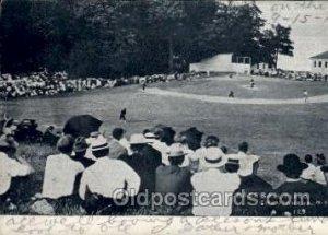 Chautauqua, NY USA Baseball Real Photo 1906 light wear, postal used 1906