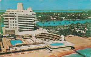 Florida Miami Beach Bright Sun Colony Hotel With Pools 1966