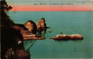 CPA Royan. Les Rochers isolés á Valliéres. (666994)