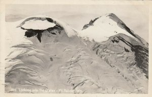 RP; MT. RAINIER, Washington, PU-1948 ; Looking into the Crater