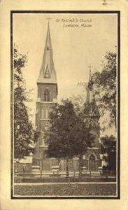 St. Patrick's Church in Lewiston, Maine