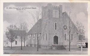Saint John's Evangelical And Reformed Church Sheldon New York Dexter Press