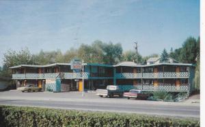Blue Stream Motel, Vernon, British Columbia, Canada, 40-60s