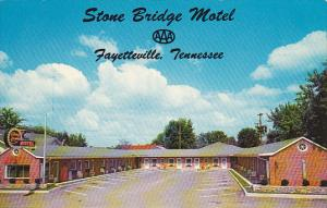 Tennessee Fayetteville Stone Bridge Motel