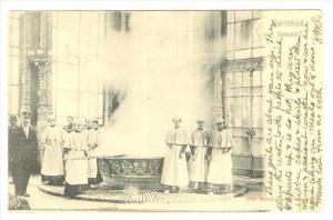 Karlsbad , Austria  now Czech Republic ,  PU-1907 , Sprudel