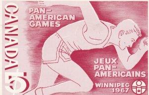 WINNIPEG, Pan-American Games, Manitoba,1950-1960s