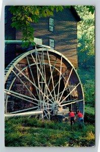 Wayne County KY-Kentucky, Mill Springs Mill, Chrome Postcard