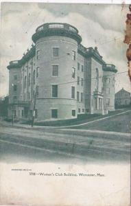 Massachusetts Worcester Women's Club Building 1909