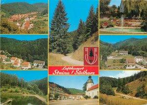 Postcard Germany Luftkort Steina
