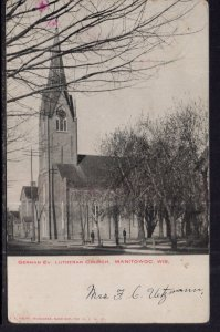 German Ev Lutheran Church,Manitowoc,WI BIN