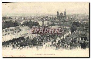 Old Postcard Nancy Panoramic View