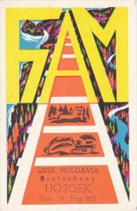 USSR Molvado Bratuchany UO5OEK Aone 16 Reg 039,  00-10s