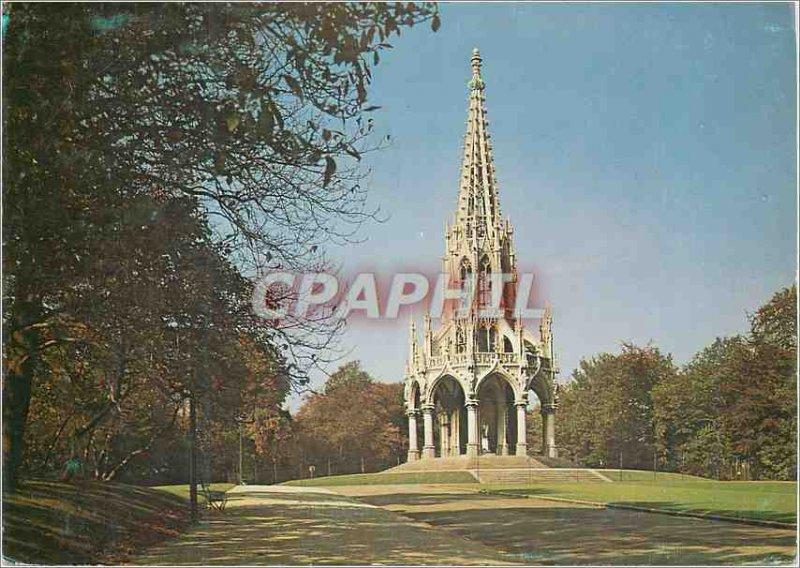 Postcard Modern Brussels laeken Leopold I of monument