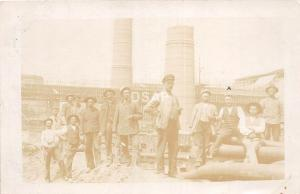 A64/ Occupational Real Photo RPPC Postcard Workers c1915 Germany Ammunition 7
