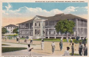 PANAMA, 1900-1910's; Panama Canal Club House, Balboa, Canal Zone