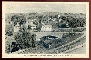 dc1176 - COATICOOK Quebec Postcard 1944 Bridge
