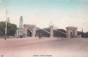 Anderson Bridge Singapore Postcard