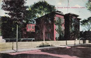 DANBURY , Connecticut, PU-1911; New Street School