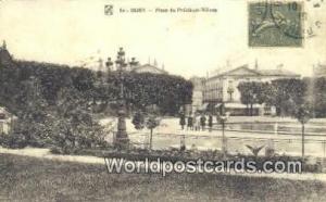 Dijon, France, Carte, Postcard Palce du President Wilson Dijon Palce du Presi...