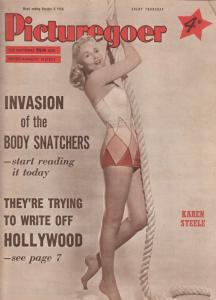 Picturegoer Dana Wynter Invasion Of The Body Snatchers Film Magazine