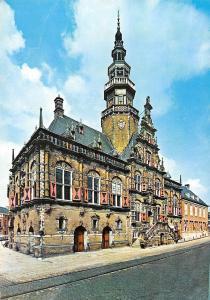 Netherlands Bolsward: Stadhuis, beautiful building, City Hall