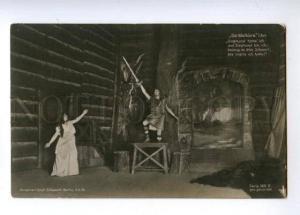 174684 WALKURE 1907 Wagner OPERA singer STAGE Vintage photo PC