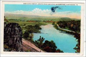 Juniata River & State Reformatory, Huntingdon PA