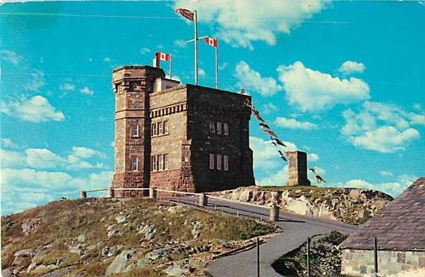 Cabot Tower St. John's Newfoundland  NL Canada 1969