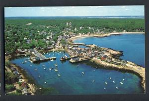 Rockport, Mass/MA Postcard, Front Beach/Yacht Club/Harbor