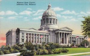 Missouri State Capitol Jefferson City Missouri 1944