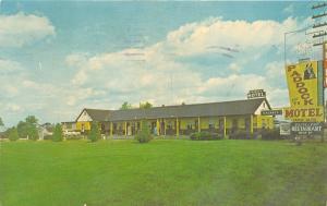 Lexington Kentucky~Paddock Motel on US 6~Vending Machines in Front~1965 Postcard