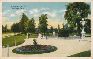 Walbridge Park at Toledo, Ohio - pm 1917 - WB