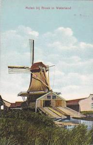 Molen bij Broek in Waterland, Windmill, 00-10s
