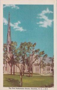 North Carolina Charlotte First Presbyterian Church Dexter Press