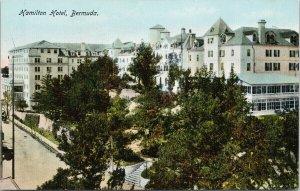 Hamilton Hotel Bermuda Unused Postcard F52