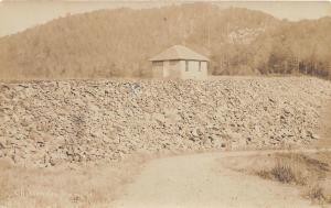 E5/ Chittenden Dam Vermont VT Real Photo RPPC (3) Postcards c1910 Lake View 2