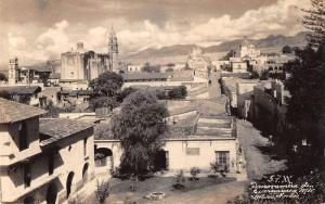 Cuernavaca Mexico Panorama Real Photo Antique Postcard J40118