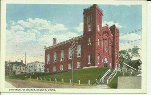 Bangor, Maine, Universalist Church